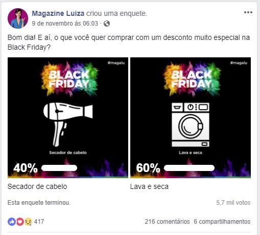 black-friday-magazine-luiza-enquete