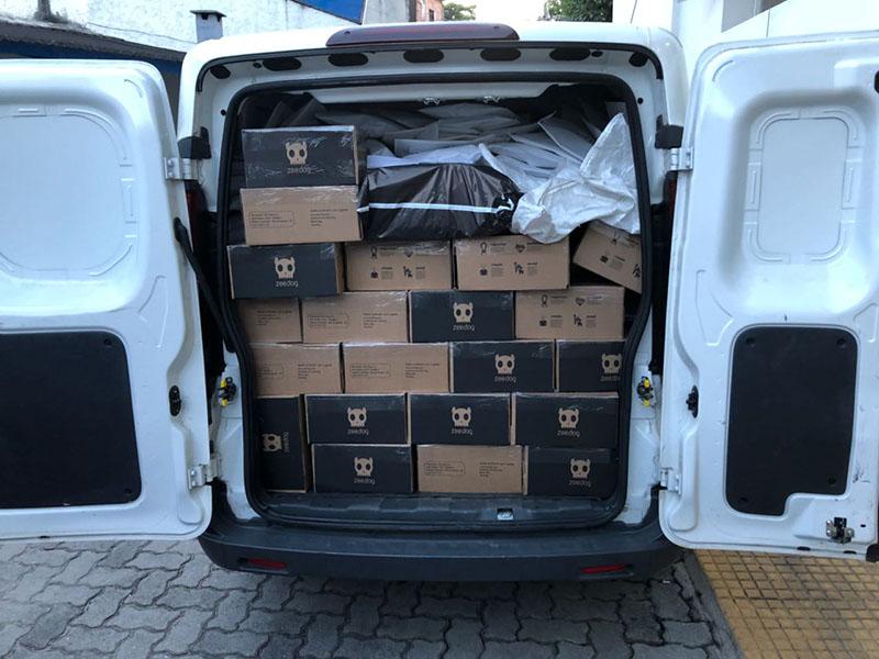 Embalagens para E-commerce e Transporte de carga fracionada