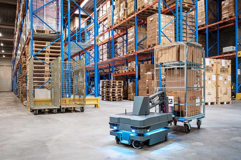 Robótica na logística: como a tecnologia está mudando a cadeia de suprimentos